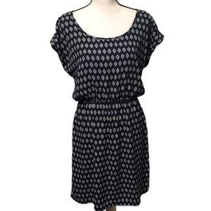 Maurice's - Cute Navy elastic waist dress